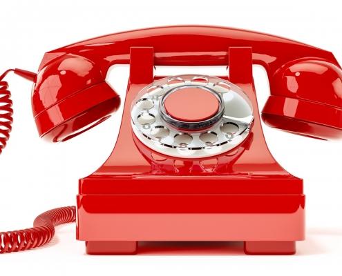 Schaubild Telefon