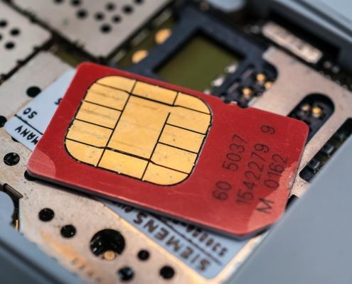 Schaubild SIM Karte